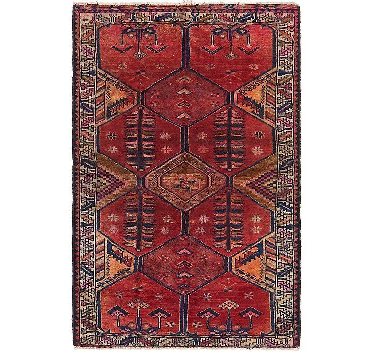 4' x 6' Shiraz Persian Rug
