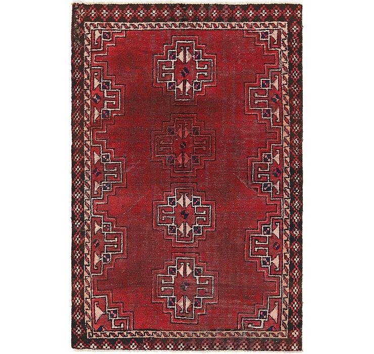 3' 8 x 5' 9 Hamedan Persian Rug