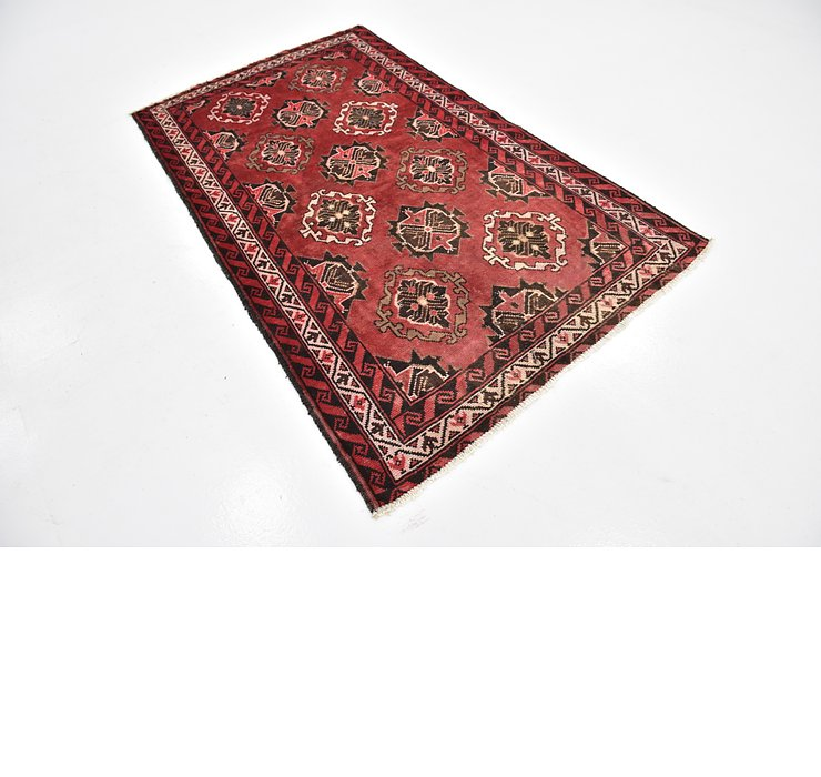 4' 3 x 6' 9 Shiraz Persian Rug