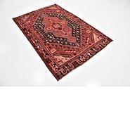 Link to 4' 7 x 7' Shiraz Persian Rug