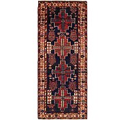Link to 3' 6 x 8' 7 Hamedan Persian Runner Rug