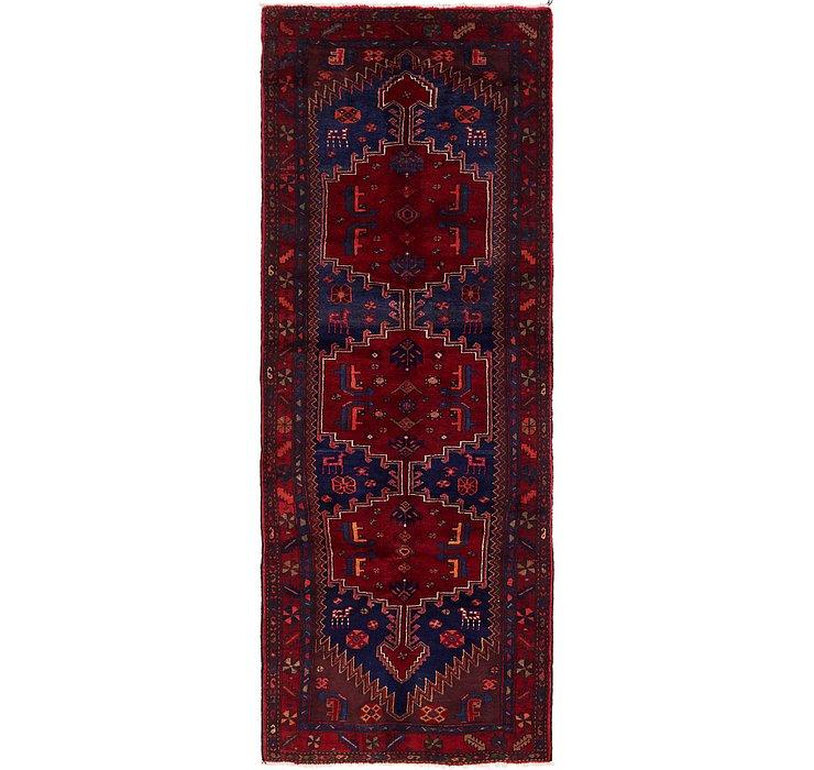 HandKnotted 3' 9 x 10' Zanjan Persian Runner Rug