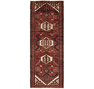 Link to 107cm x 292cm Hamedan Persian Runner Rug