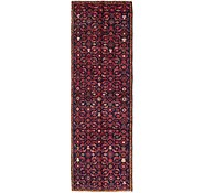 Link to 2' 9 x 9' Hossainabad Persian Runner Rug