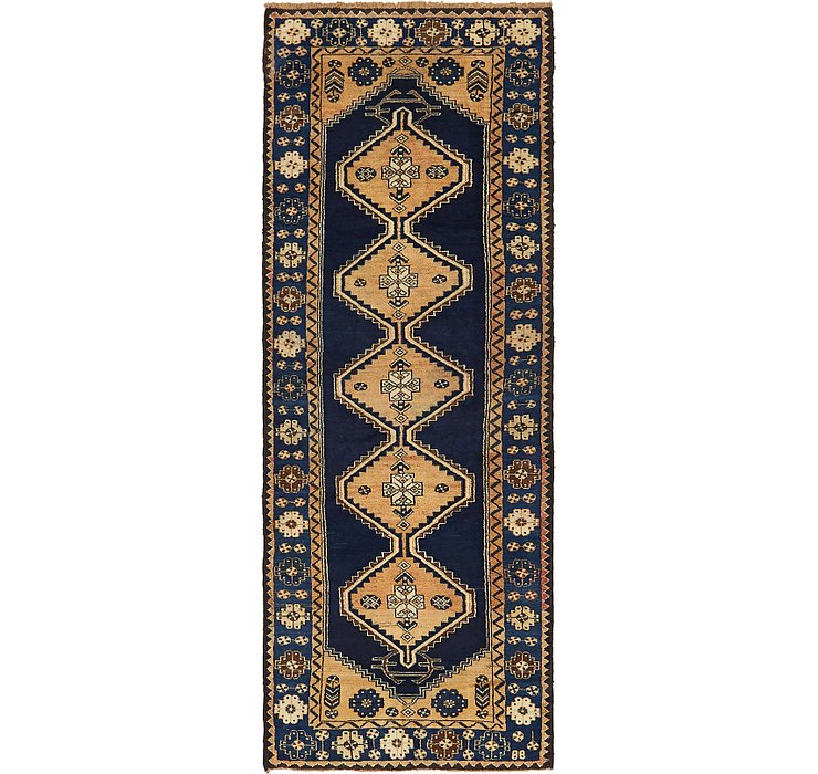 3' 5 x 9' 6 Shiraz Persian Runner Rug