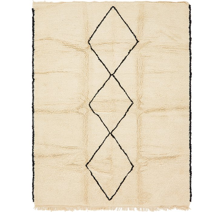 HandKnotted 7' x 9' 5 Moroccan Rug