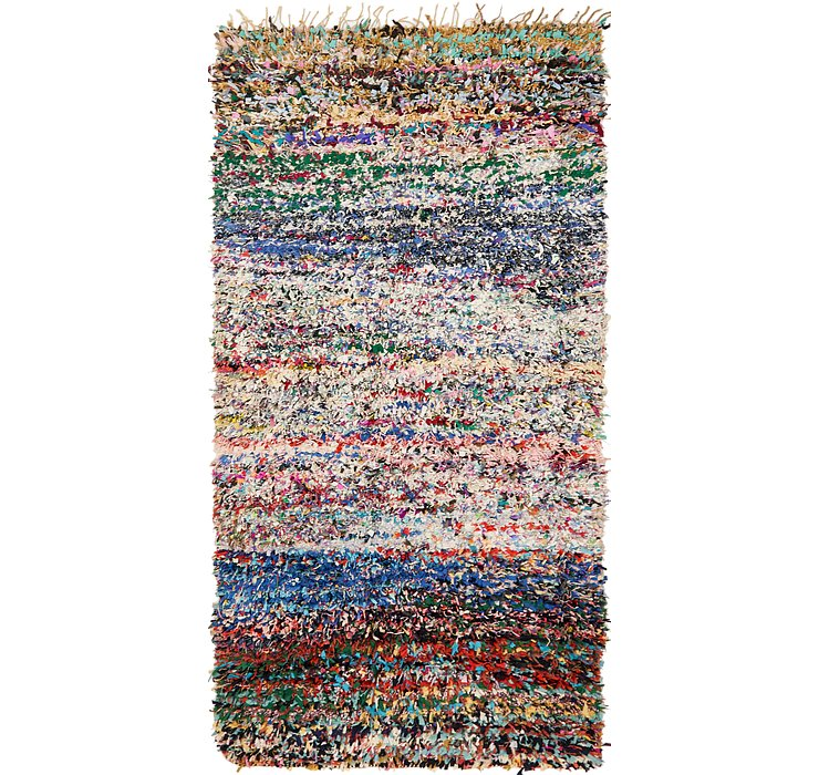 HandKnotted 5' 10 x 11' 4 Moroccan Rug