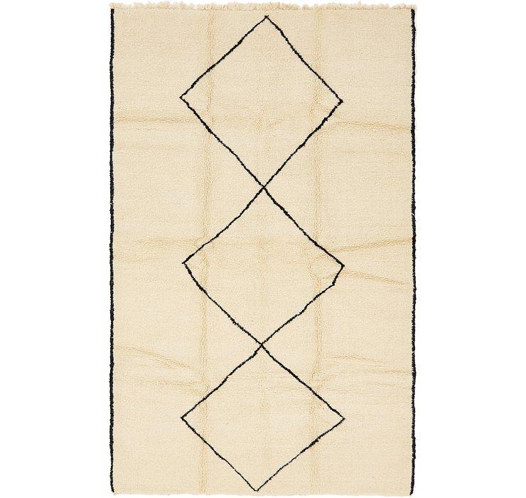 6' x 9' 8 Moroccan Rug