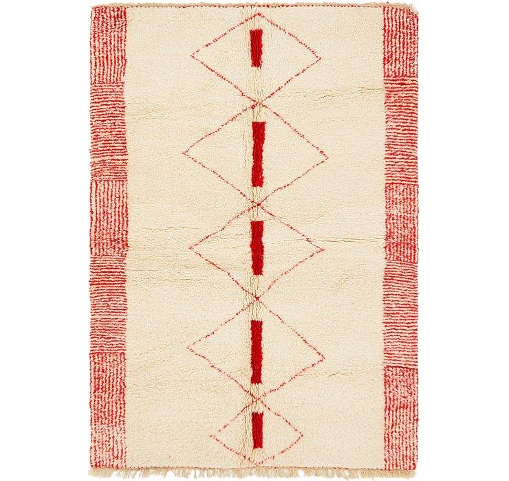 5' 5 x 8' Moroccan Rug