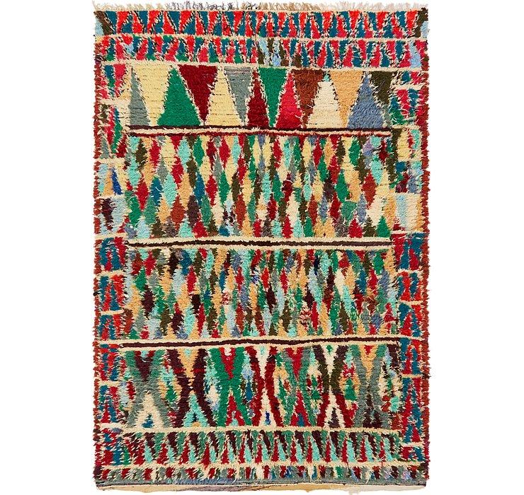 5' 10 x 8' 8 Moroccan Rug