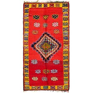 4' 2 x 9' Moroccan Runner Rug