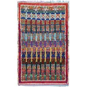 Unique Loom 3' 10 x 6' 5 Moroccan Rug