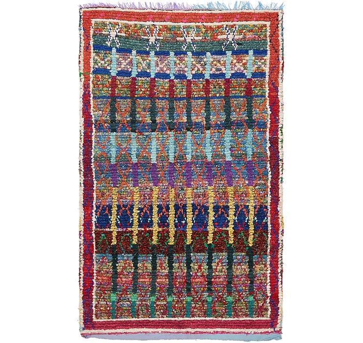 3' 10 x 6' 5 Moroccan Rug