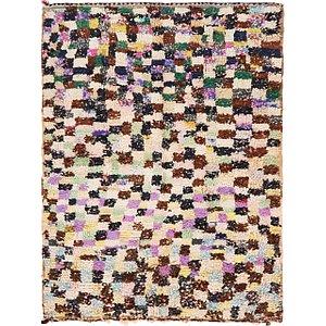 Unique Loom 4' 9 x 6' 2 Moroccan Rug