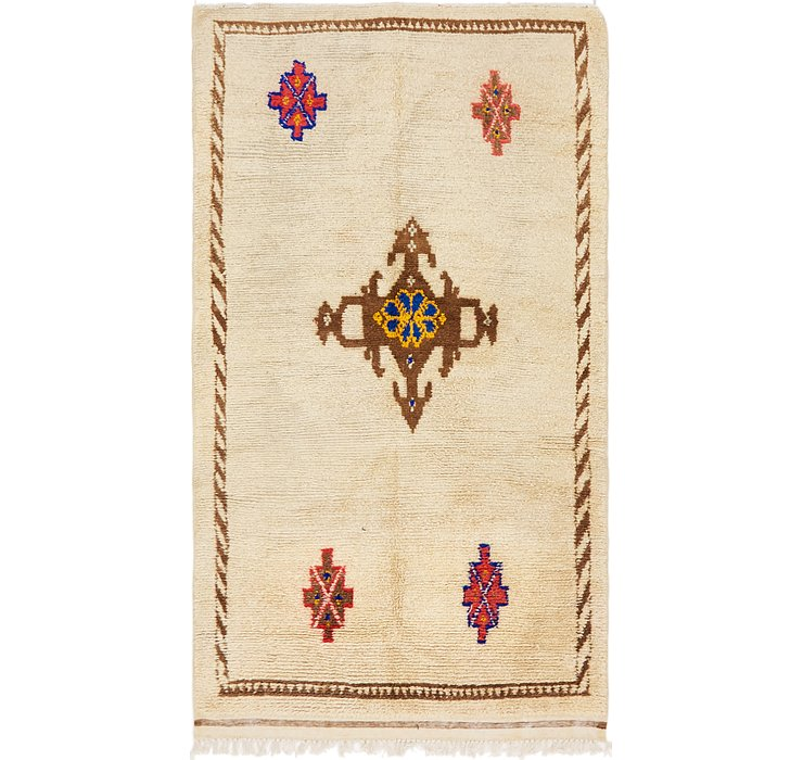 4' 7 x 8' Moroccan Rug