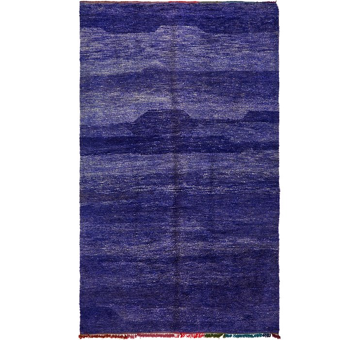 HandKnotted 6' x 10' 8 Moroccan Rug