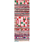 Link to 3' x 8' 2 Moroccan Runner Rug
