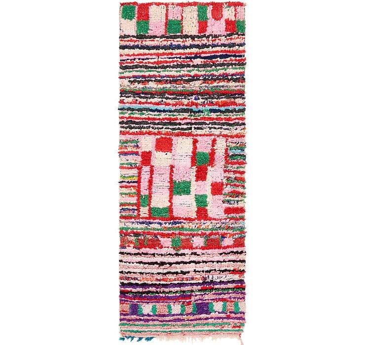 3' x 8' 2 Moroccan Runner Rug
