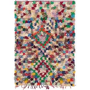 Unique Loom 4' 8 x 7' Moroccan Rug