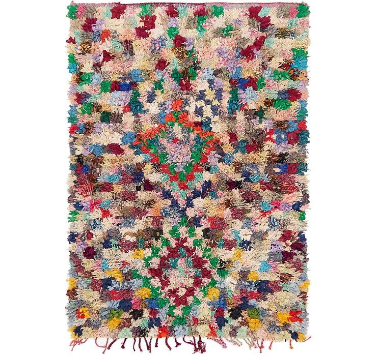 4' 8 x 7' Moroccan Rug