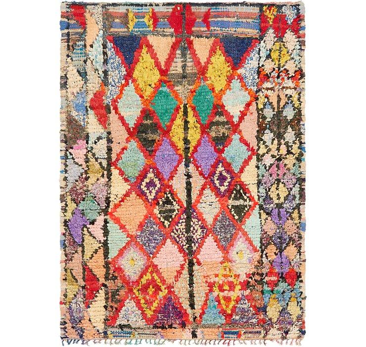 5' 8 x 7' 7 Moroccan Rug