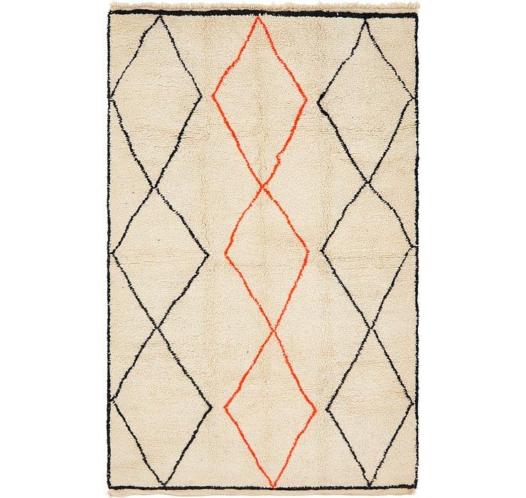 6' 5 x 10' Moroccan Rug