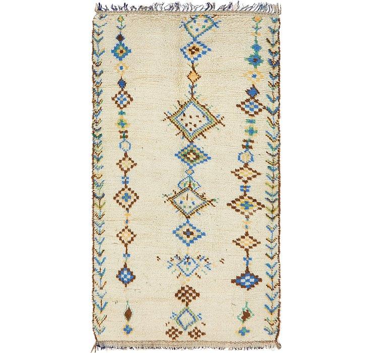 4' 7 x 8' 8 Moroccan Rug