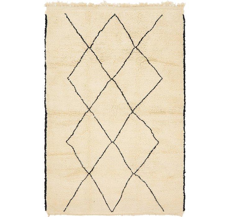 6' 4 x 9' 9 Moroccan Rug