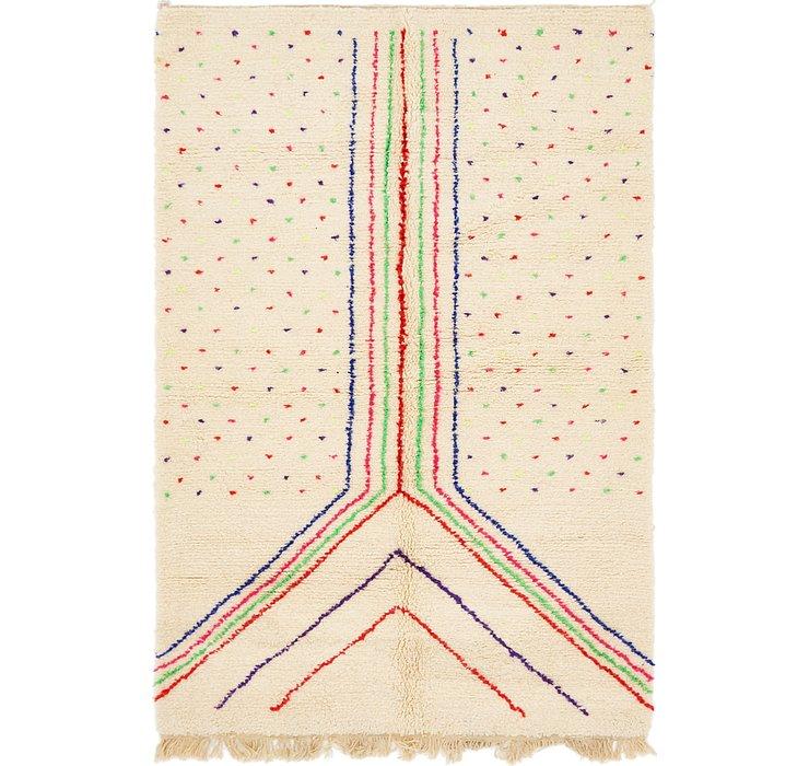 5' 8 x 8' 3 Moroccan Rug