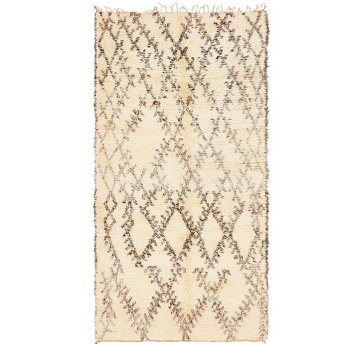 5' x 9' 9 Moroccan Rug