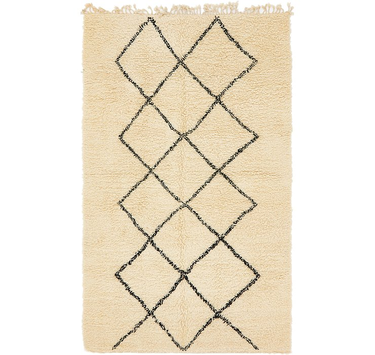 HandKnotted 6' 2 x 10' 8 Moroccan Rug
