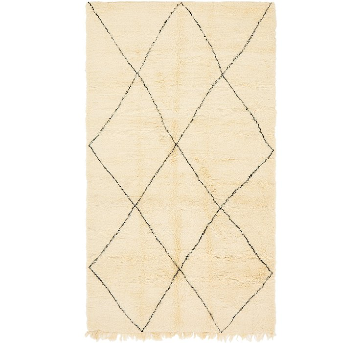 HandKnotted 6' 6 x 11' 3 Moroccan Rug