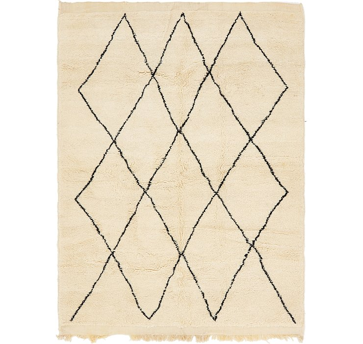 HandKnotted 7' 2 x 9' 7 Moroccan Rug
