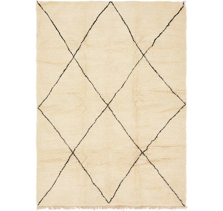 7' x 9' 5 Moroccan Rug