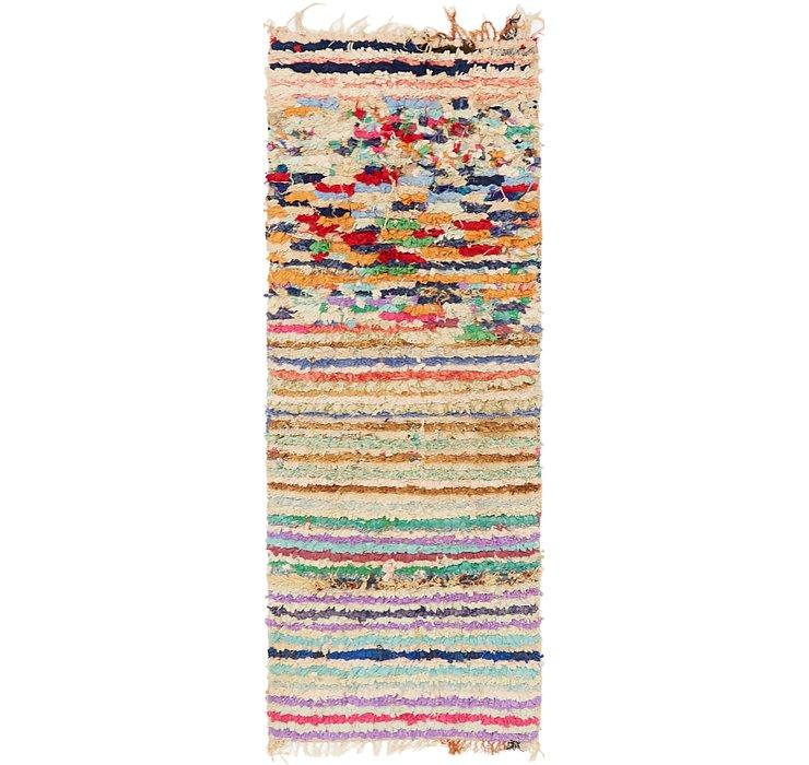 2' 10 x 7' 9 Moroccan Runner Rug