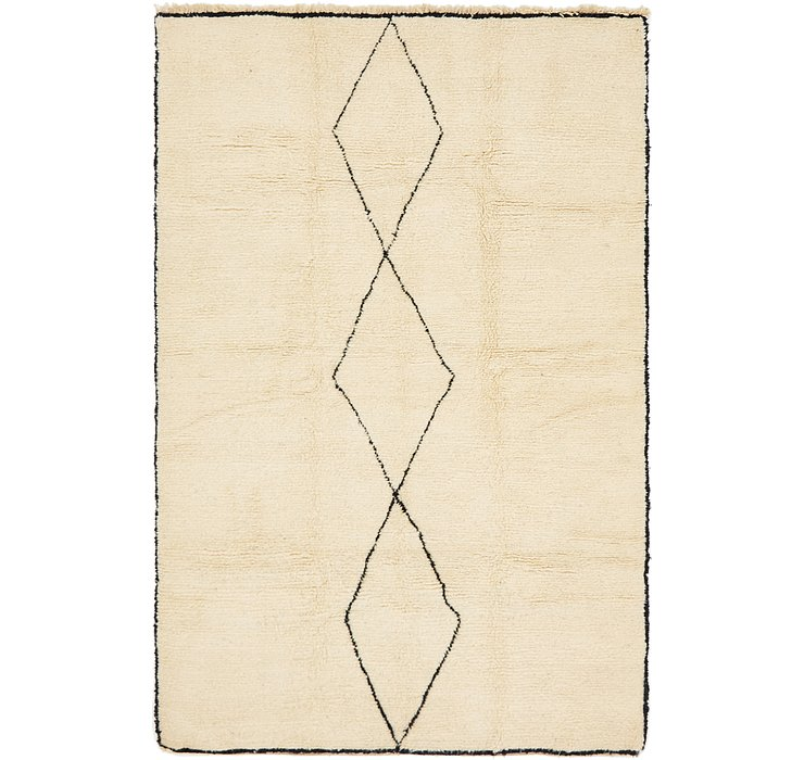 6' 5 x 9' 6 Moroccan Rug