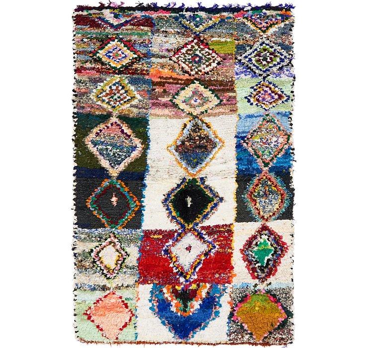 4' 9 x 7' 6 Moroccan Rug