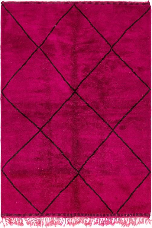 Violet  6' 8 x 10' Moroccan