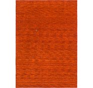Link to 6' 7 x 9' 6 Solid Gabbeh Rug