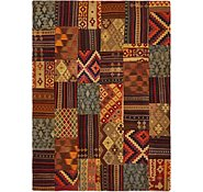 Link to 7' x 9' 8 Kilim Patchwork Rug