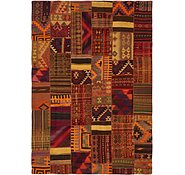 Link to 6' 7 x 9' 6 Kilim Patchwork Rug