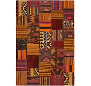Link to 6' 7 x 9' 7 Kilim Patchwork Rug