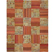 Link to 6' 7 x 8' 2 Kilim Patchwork Rug