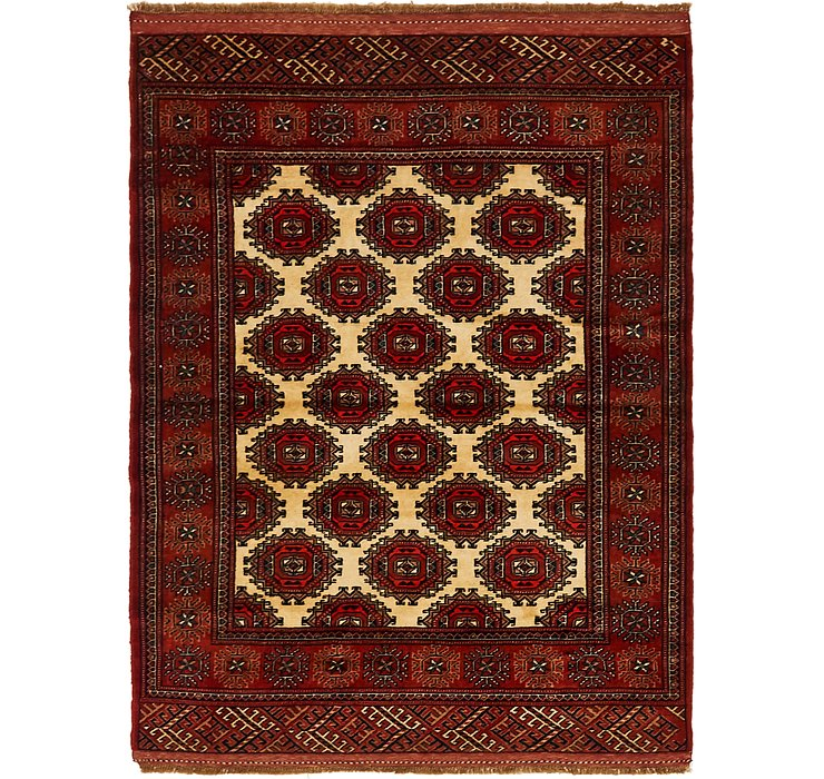 110cm x 147cm Bokhara Oriental Rug