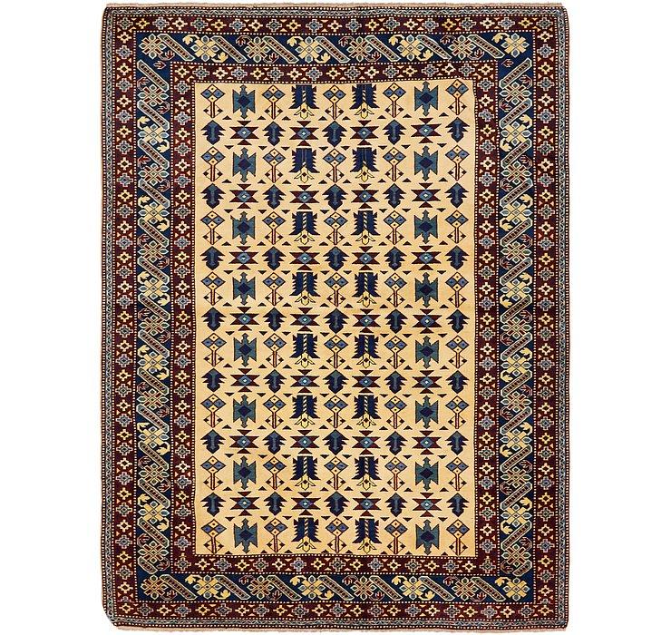 5' 3 x 7' Kazak Oriental Rug