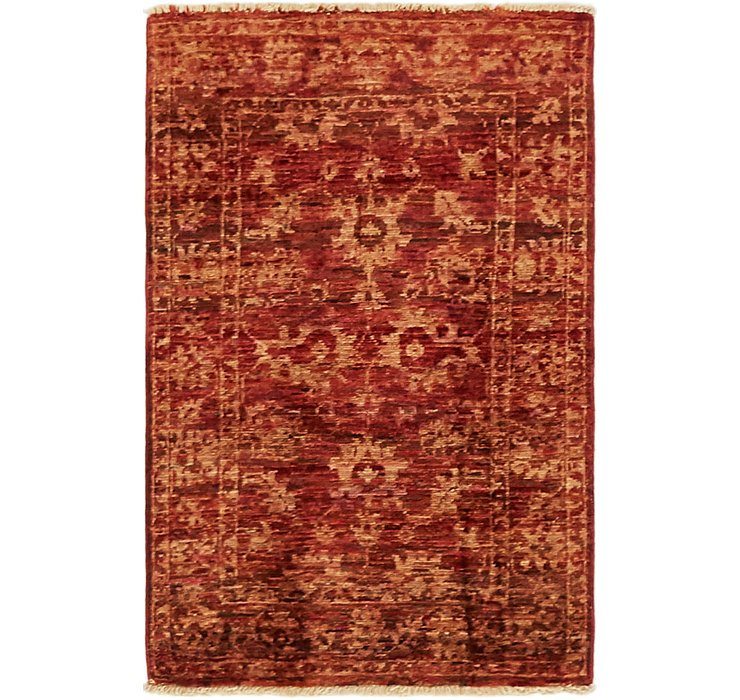 2' x 3' Over-Dyed Ziegler Rug