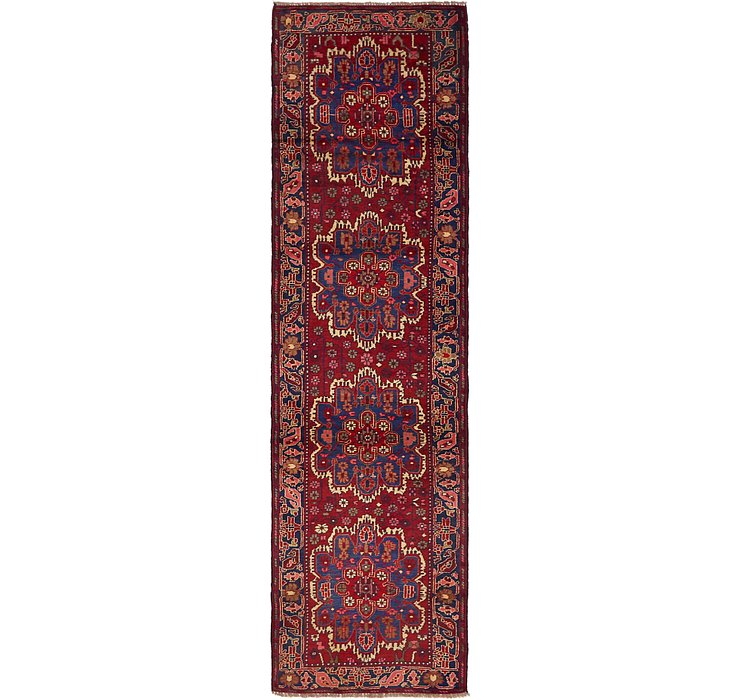 2' 6 x 9' 4 Ardabil Persian Runner ...