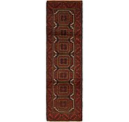 Link to 2' 9 x 9' 9 Balouch Persian Runner Rug