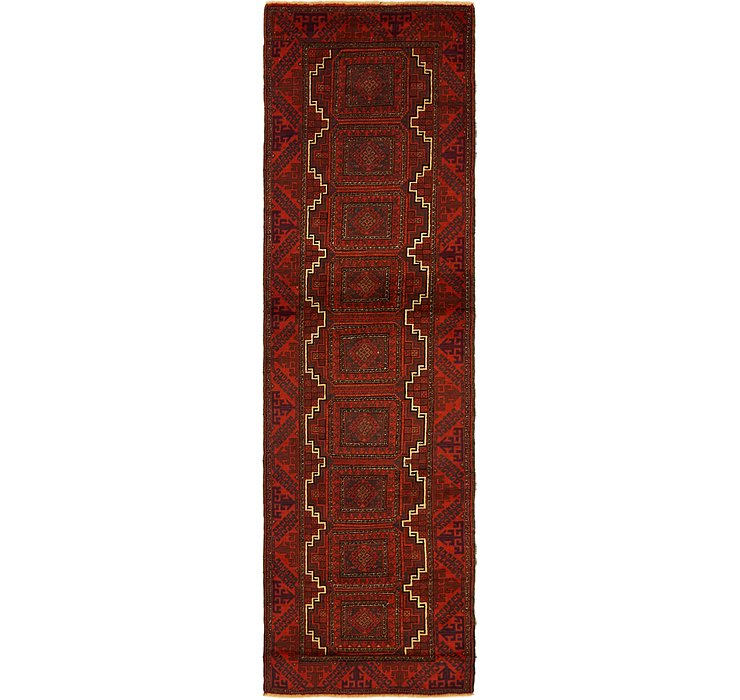 2' 7 x 9' 4 Balouch Persian Runner ...