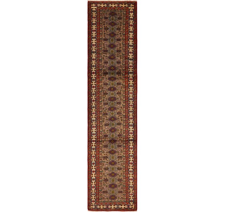 2' 8 x 12' 5 Ardabil Persian Runner ...